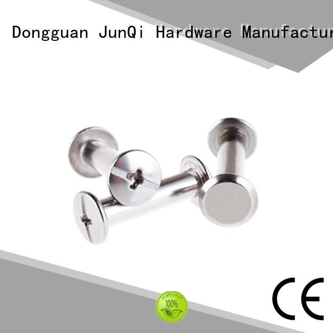 JunQi head flat head rivet favorable price for jeans