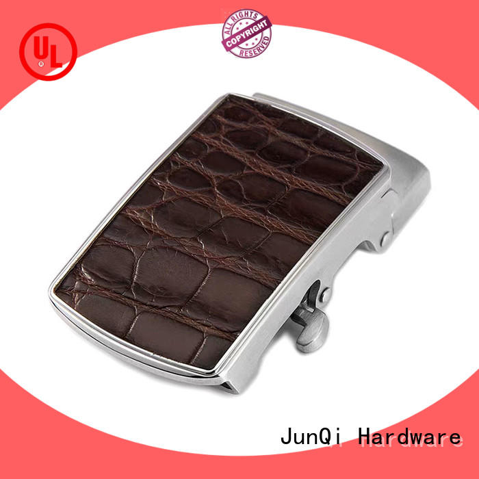 JunQi leather fashion belt buckles stable performance