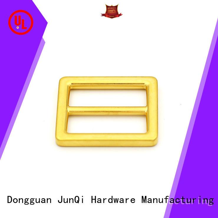 JunQi high quality metal slide buckles for girls