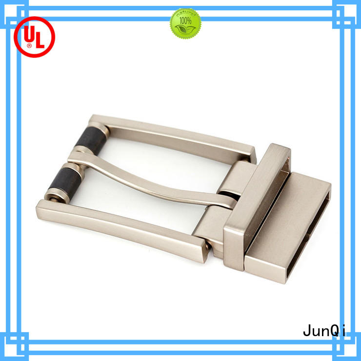JunQi with teeth casual belt buckles high quality for fashion