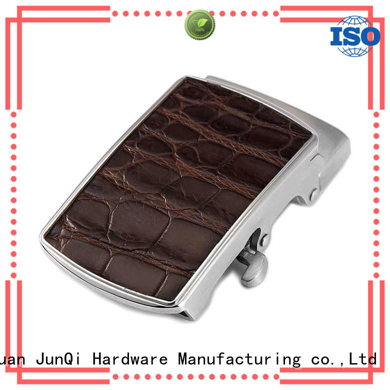 JunQi with teeth pretty belt buckles high quality for clothes