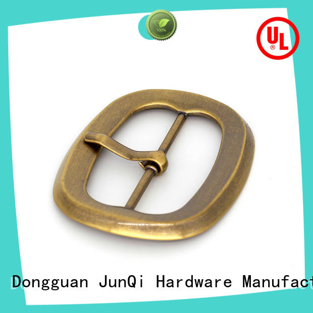 JunQi turnversible leather belt buckle stable performance for girls