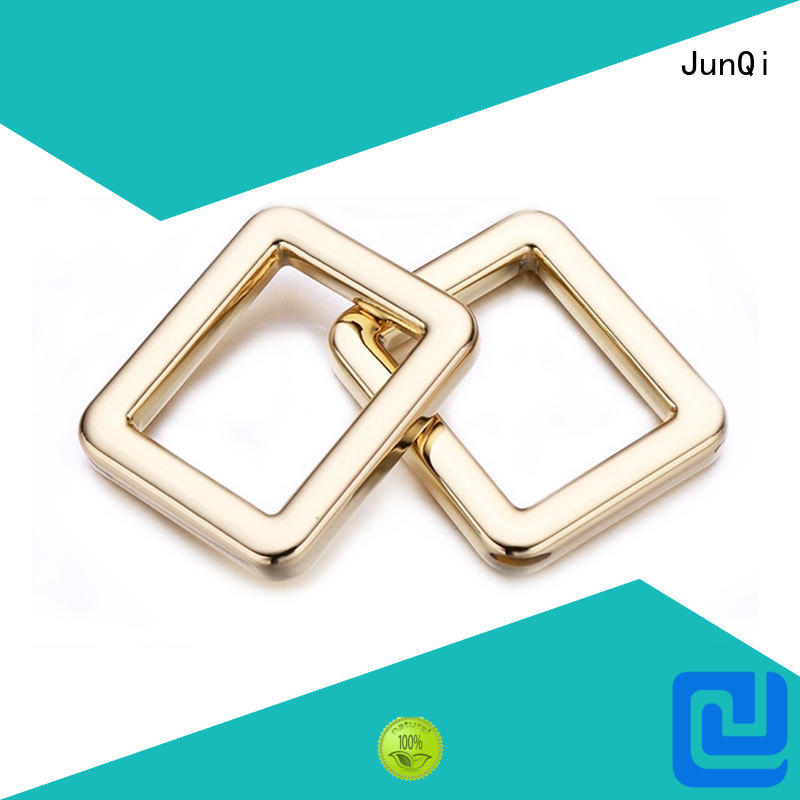 split square metal ring square for jeans JunQi