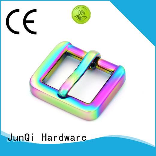 JunQi useful plain metal belt buckles automaticlal for clothes