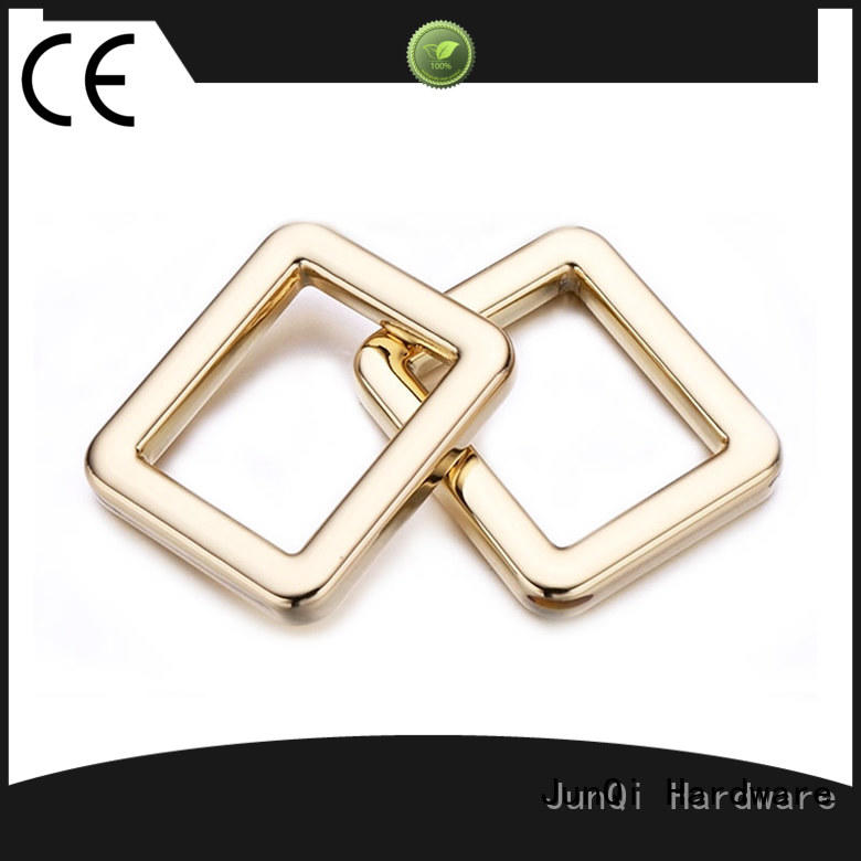 JunQi personalized square metal ring bulk production for jeans