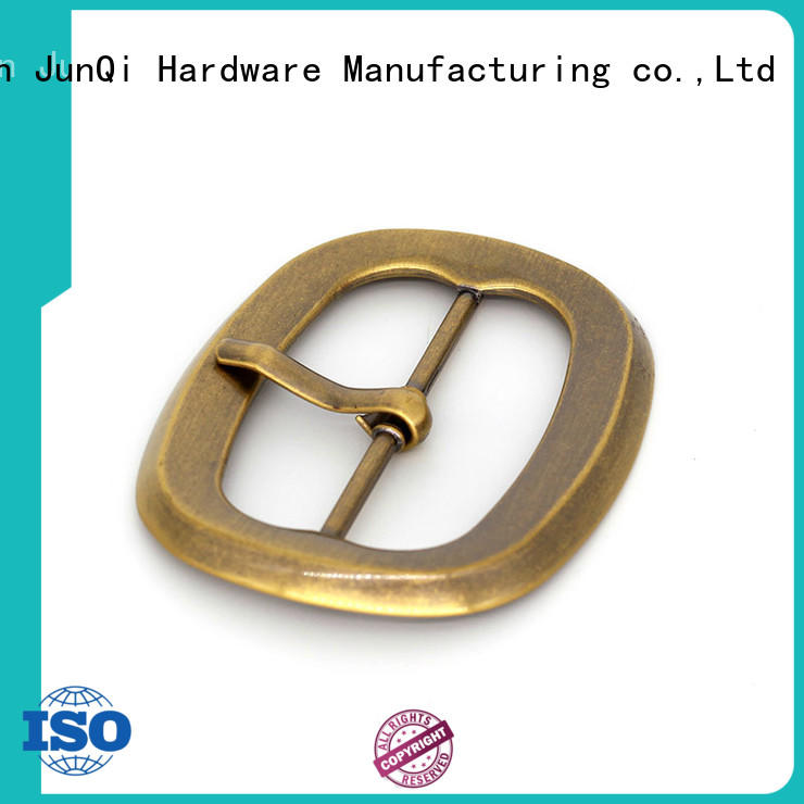 JunQi with teeth wholesale belt buckles automaticlal for clothes