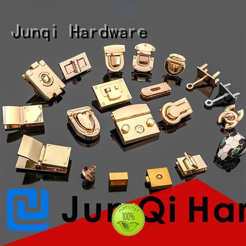 JunQi Copper handbag turn lock high quality for handbag