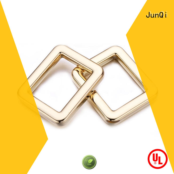 JunQi ring square metal ring for wholesale