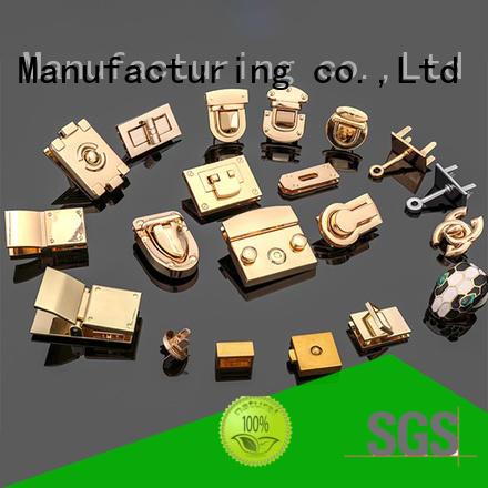manufacturer handbag padlock Copper free sample for fashion