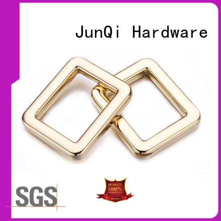 JunQi personalized square metal ring for wholesale