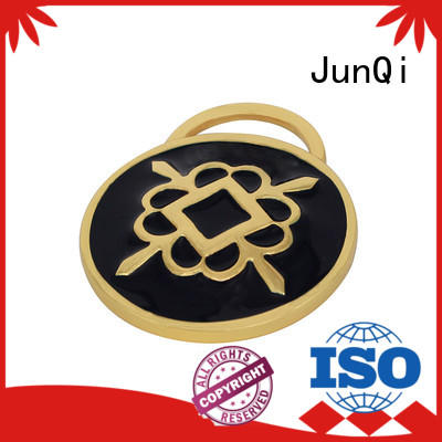 JunQi metal bag labels for business