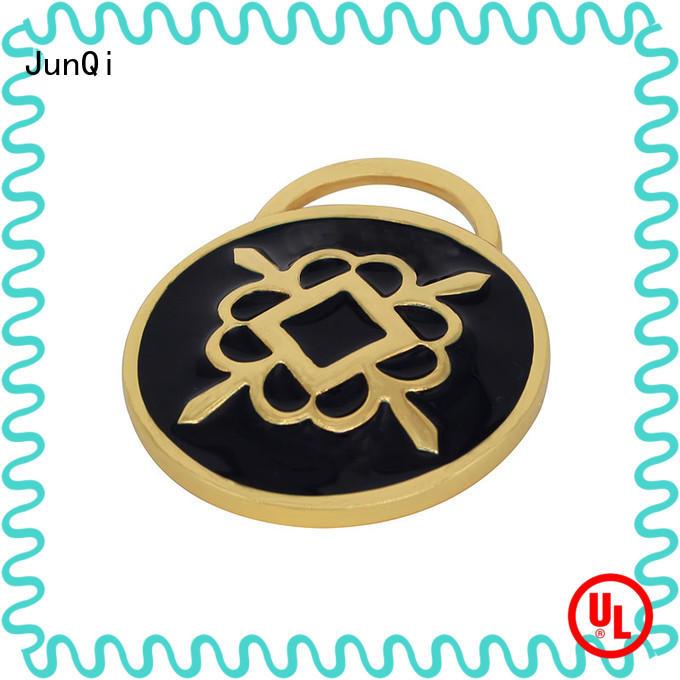 JunQi metal bag labels manufacturers