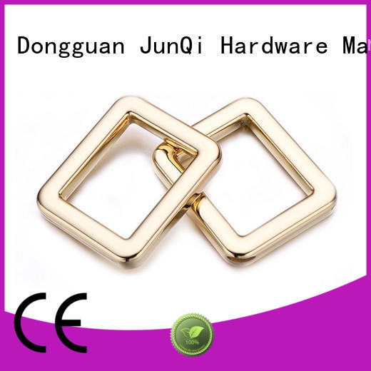personalized square metal ring square bulk production