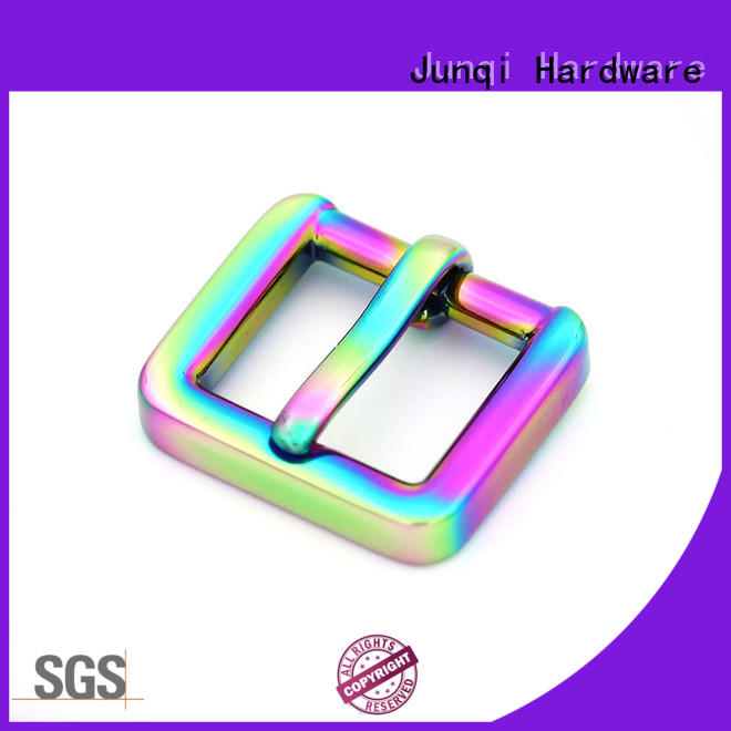 JunQi adjustable interchangeable belt buckles stable performance for clothes
